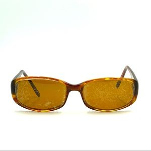 Anne Klein AK5106 Brown Oval Sunglasses Frames